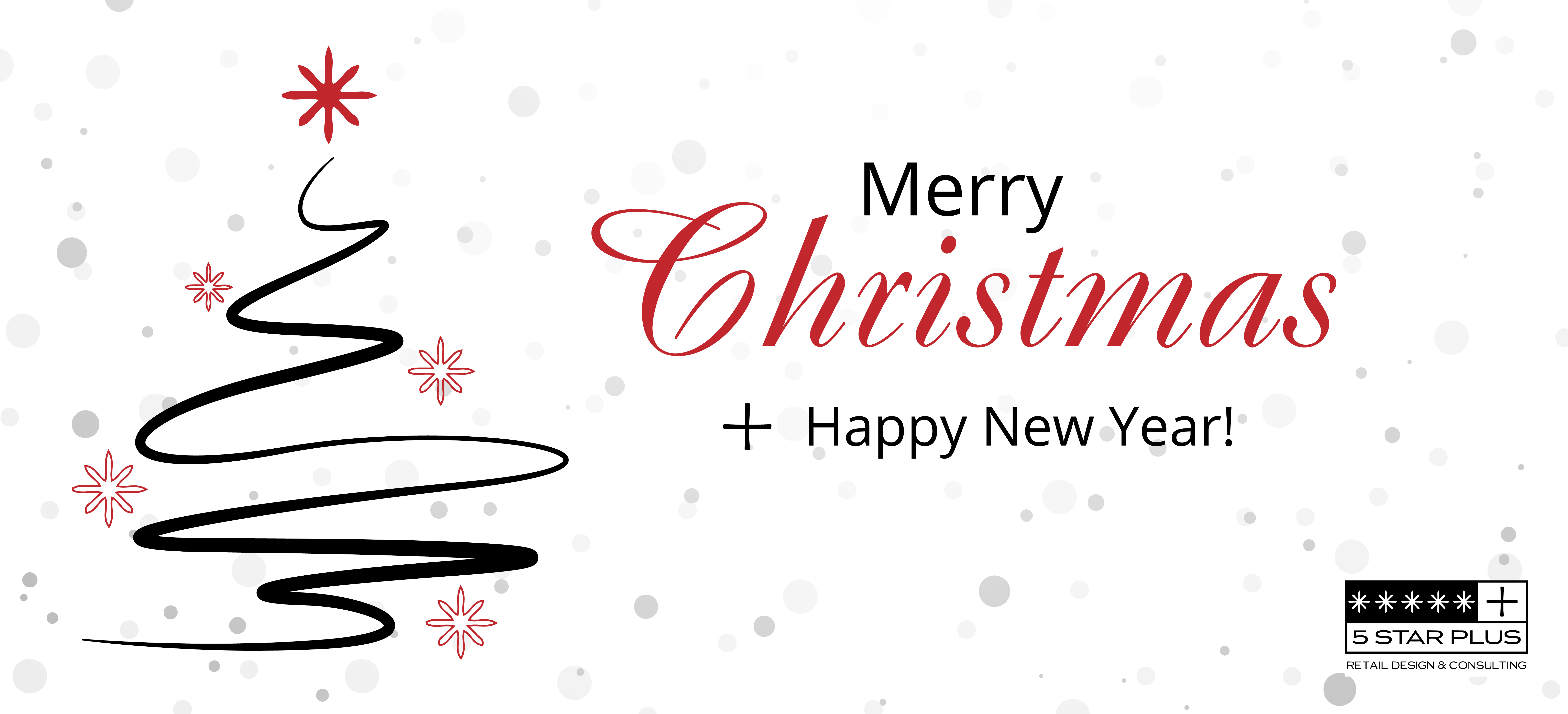 5 Star Plus Retail Design wishes everybody Merry Christmas and a Happy New Year