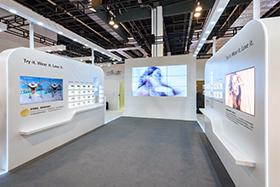 Exhibition Stand Design, Silhouette