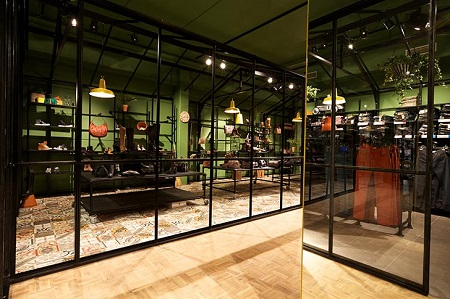 In Retail Design Concepts Green Creates Dynamic Otherwise More Traditional Spaces Conveys A Young And Stylish Touch Or Communicates Focus On Health