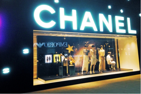 Chanel Window design